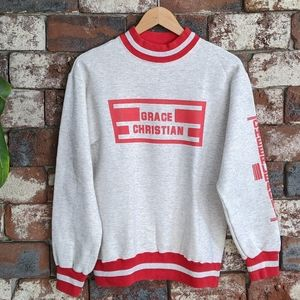 Sweaters - Vintage Grace Christian Cheer sweater
